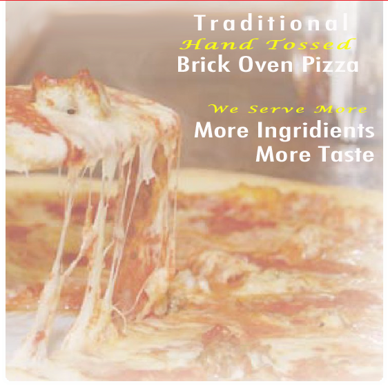 Hand tossed brick oven Pizza and Italian food in Cazenovia New York